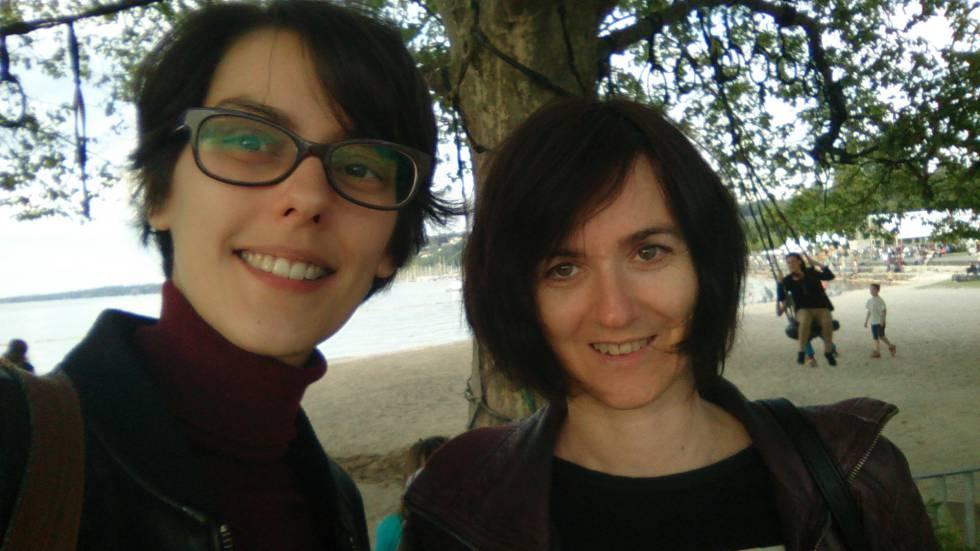 Ana Corrionero y Patricia Alfonso