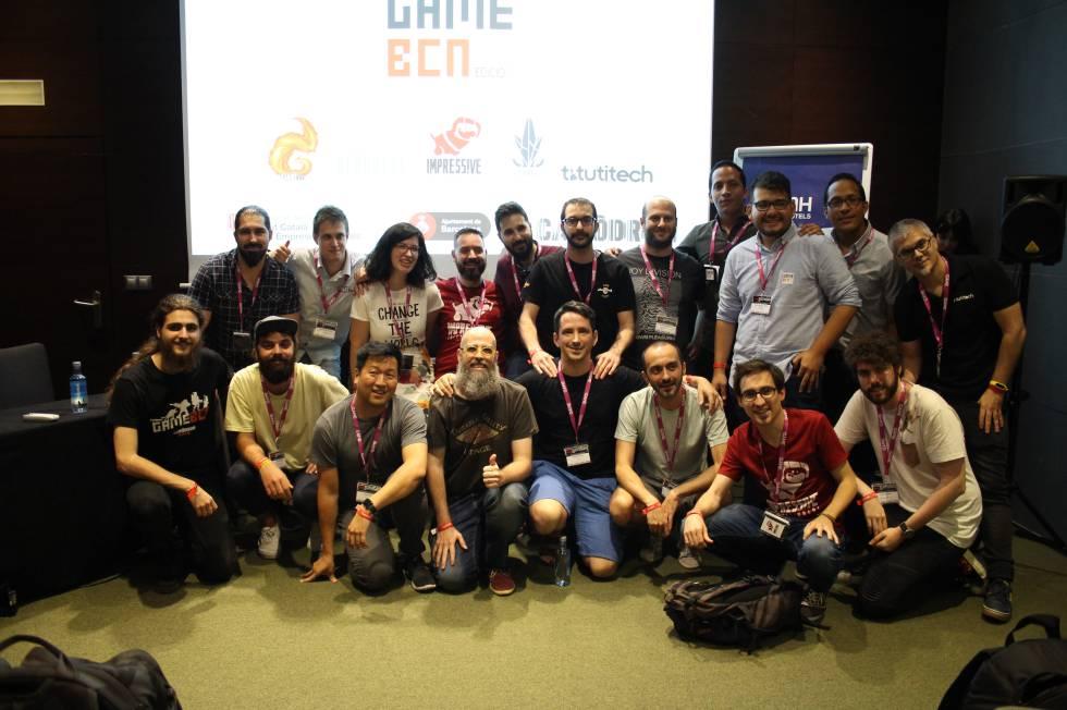 Reunión de GameBCN