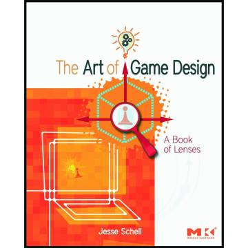 Portada del libro  The Art of Game Design , de Jesse Schell
