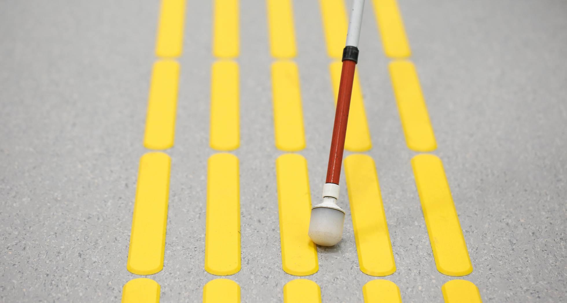 Así es el 'bastón 4.0' para las personas ciegas