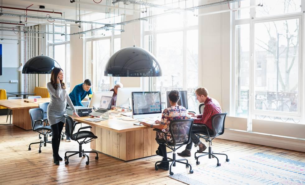 Resultado de imagen para Diseño y distribución de las oficinas: ¿Espacios abiertos o cerrados?