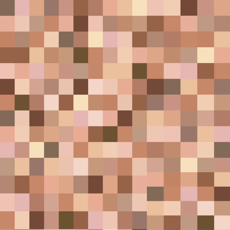 замазать детали фото квадратами что