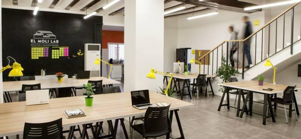 Oficinas los mejores espacios de coworking de valencia for Oficina coworking