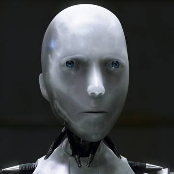 Fotograma de la película 'Yo, robot'