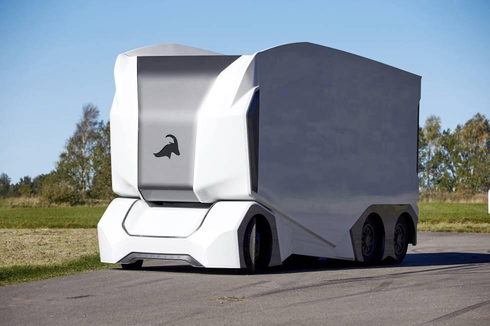 Los paquetes ya viajan solos: llegan los camiones y plataformas sin ...
