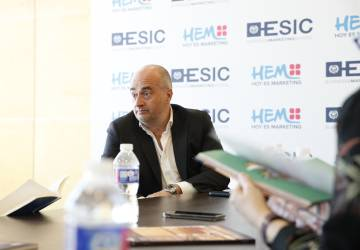 Manuel Balsera, profesor de Esic y senior vice president de la productora de televisión AMC.