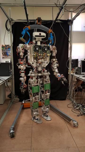 El robot TEO en el Robotics Lab de la Universidad Carlos III de Madrid