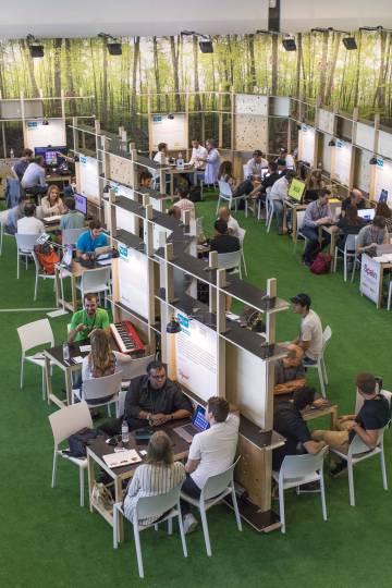 Participantes del Startup Garden.