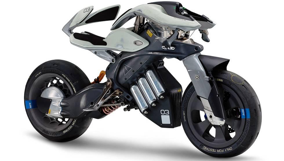 La moto eléctrica MotoroiD, de Yamaha, reconoce a su dueño.