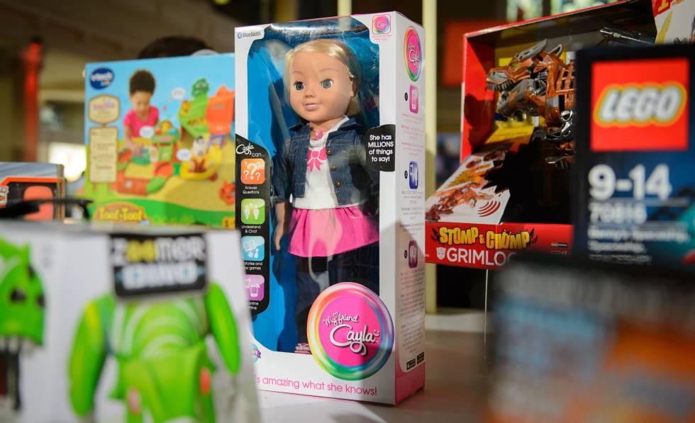 La muñeca Cayla.
