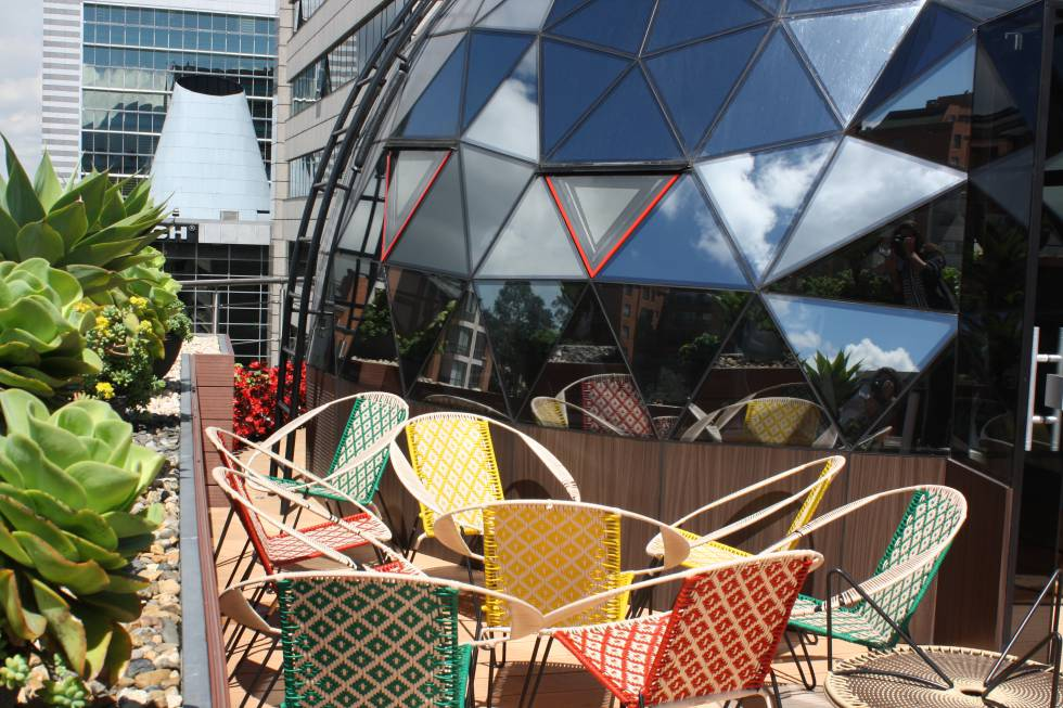 El domo que corona el edificio es la seña de identidad del centro de innovación