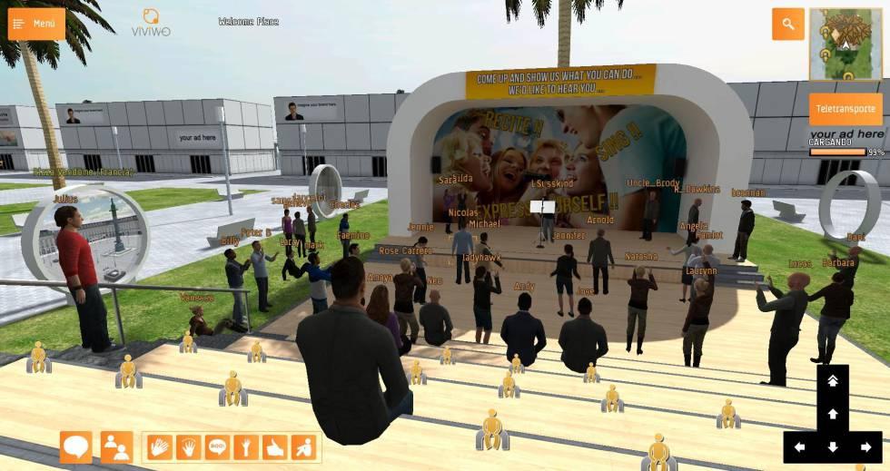 Realidad virtual para celebrar tus reuniones