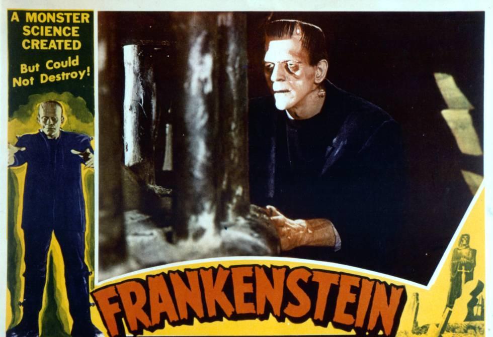 Cartel de Frankenstein, de 1931