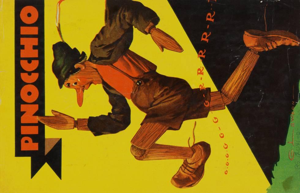 Ilustración de Pinocho (1930)