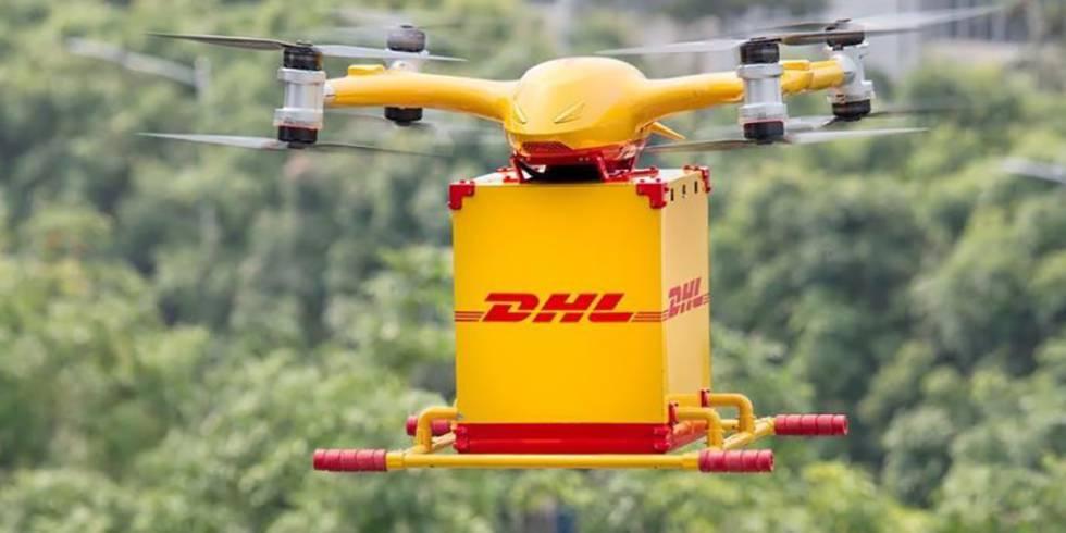 Questi droni sono progettati per trasportare pacchi fino a cinque chili nella distribuzione dell'ultimo miglio.