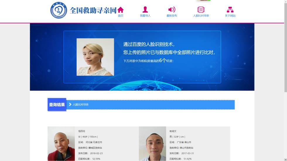 La inteligencia artificial encuentra a niños desaparecidos en China