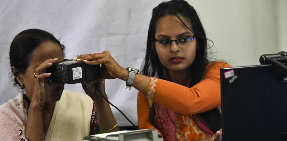 Registro de iris para Adhaar en Guwahati, Assam (India)