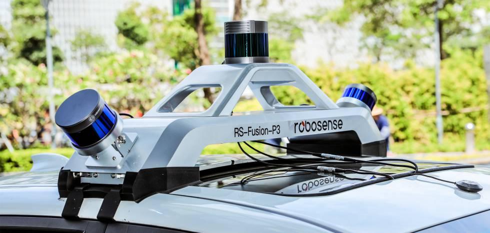 RoboSense sensor.