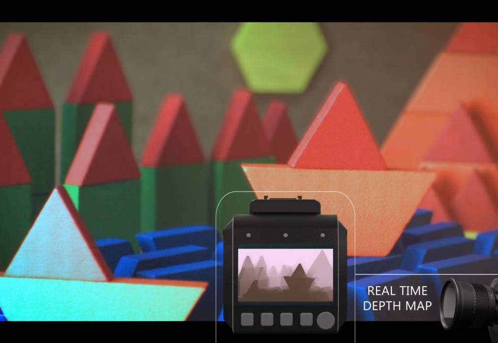 Un sistema capaz de convertir una cámara convencional en una 3D.
