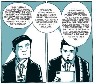 Comic 'Hunt for Satoshi Nakamoto'