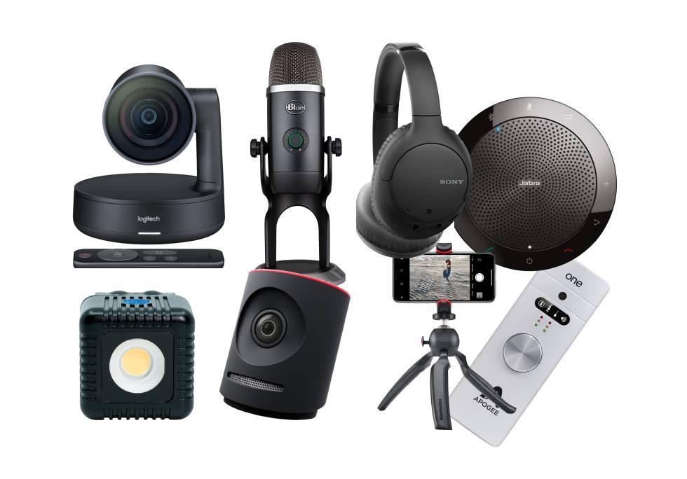 Telepresencia confinada: aparatos para la oficina virtual ideal