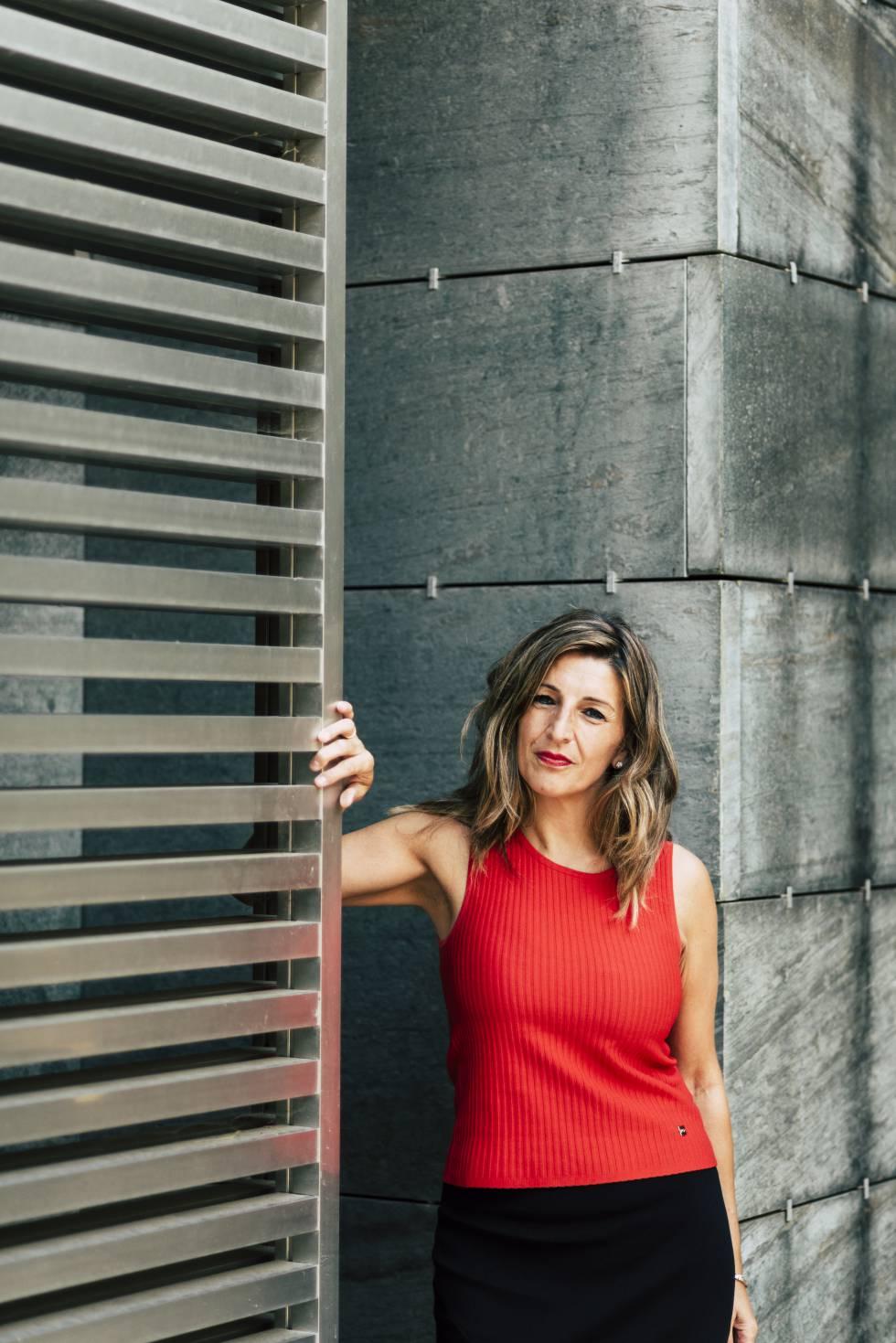"""Yolanda Díaz: """"El avance tecnológico no puede suponer un retroceso en las condiciones laborales al siglo XIX"""""""