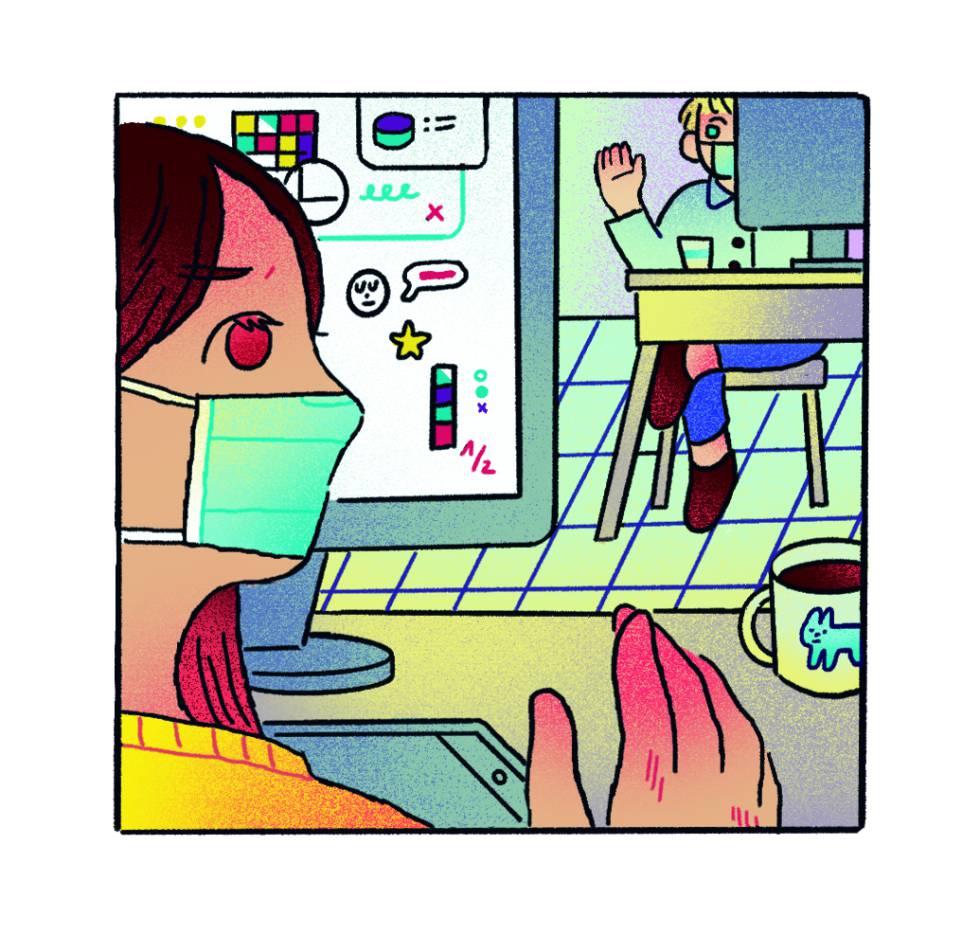 Ilustración de Anabel Colazo.