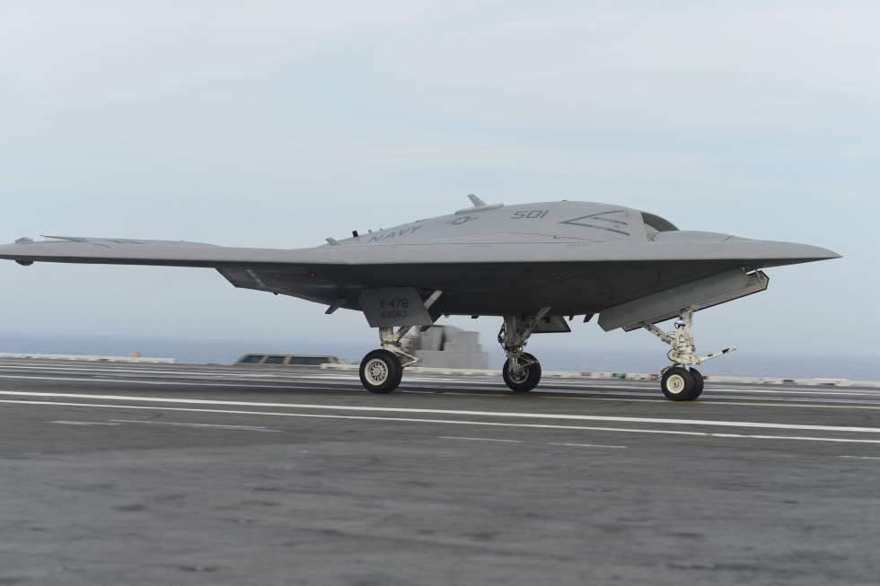 Avión no tripulado X-47B