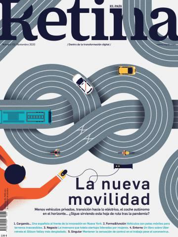 El sabado 24 de octubre se reparte la Revista Retina gratis con El País