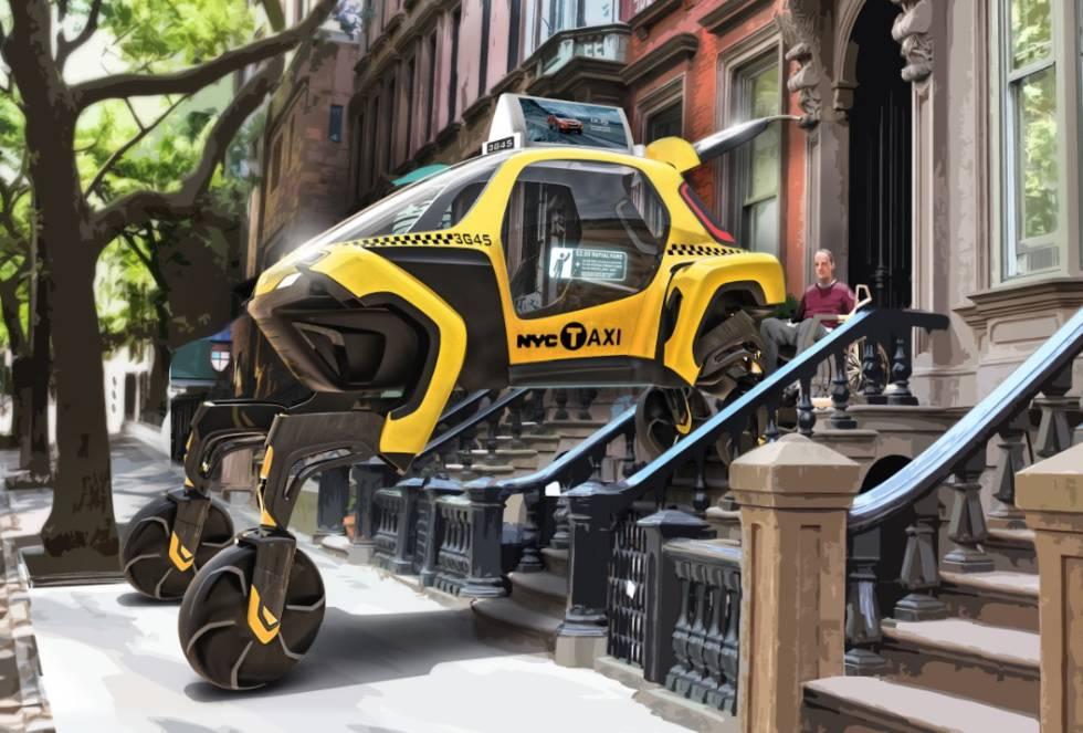 Llegan los vehículos con patas desplegables para recorrer terrenos inaccesibles
