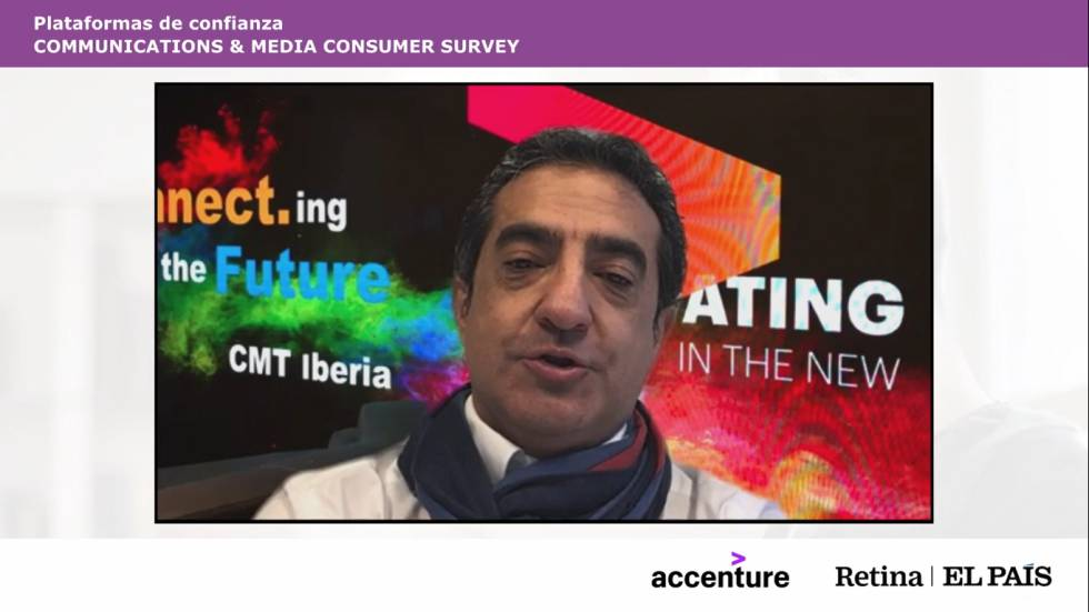 Julio Juan Prieto, Managing Partner and Industry Leader in Communications, Media and Technology at Accenture