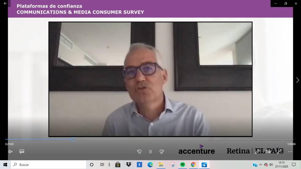 Alfonso González Imbroda, Managing Partner of Accenture Interactive de Industria Comunicaciones y Medios
