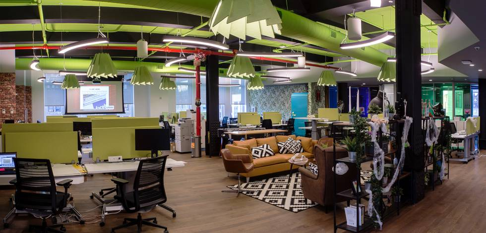 Globant offices in New York.