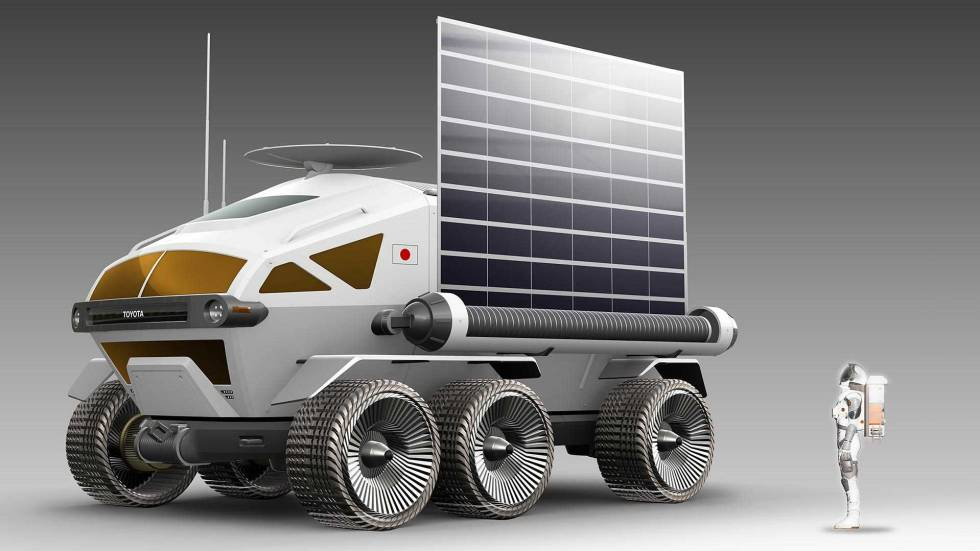 Toyota moon rover